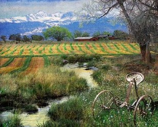 Idyllic Farm I Digital Print by Vest, Chris,Impressionism