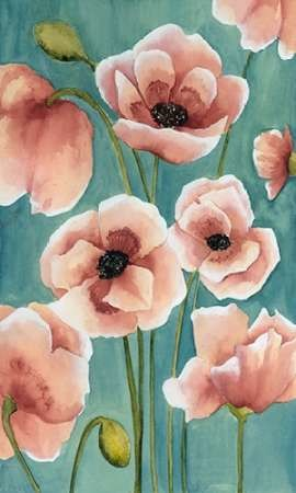 Freckled Poppies II Digital Print by Popp, Grace,Impressionism