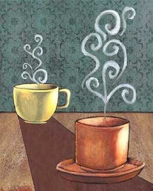 Good Morning Mugs II Digital Print by Popp, Grace,Decorative