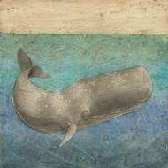 Diving Whale II Digital Print by Meagher, Megan,Impressionism
