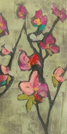 Impasto Flowers III Digital Print by Goldberger, Jennifer,Impressionism