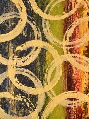 Rings of Engagement II Digital Print by Avondet, Natalie,Abstract