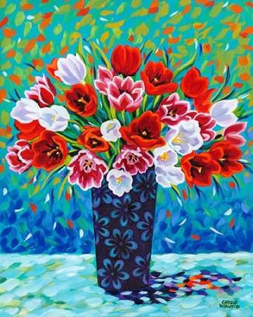 Bouquet Celebration I Digital Print by Vitaletti, Carolee,Impressionism