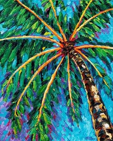 Under the Palms II Digital Print by Vitaletti, Carolee,Impressionism