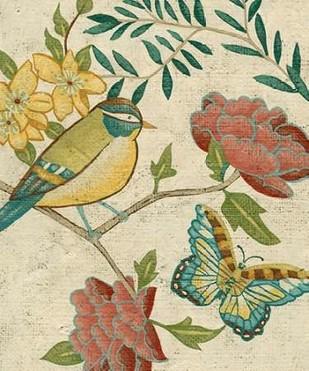 Antique Aviary I Digital Print by Zarris, Chariklia,Decorative