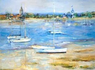 Dream Cove I Digital Print by Burr, Marysia,Impressionism