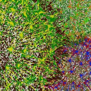 Profusion II Digital Print by Burghardt, James,Abstract