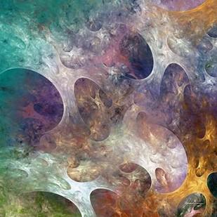 Lunar Tiles IV Digital Print by Burghardt, James,Abstract