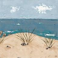Beach Scene Triptych III Digital Print by Reynolds, Jade,Impressionism