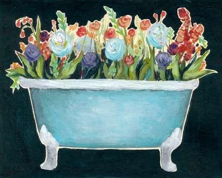 2-Up Bathtub Garden I Digital Print by Popp, Grace,Decorative