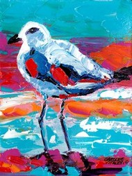Seaside Birds I Digital Print by Vitaletti, Carolee,Impressionism