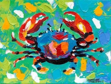 Seaside Crab I Digital Print by Vitaletti, Carolee,Impressionism