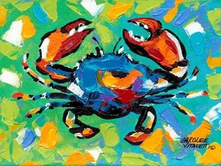 Seaside Crab II Digital Print by Vitaletti, Carolee,Impressionism