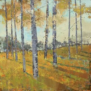 Thicket on the Hill I Digital Print by Joy, Julie,Impressionism