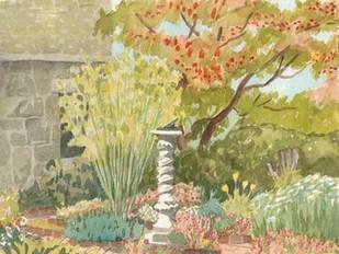 Watercolor Garden I Digital Print by Miller, Dianne,Impressionism