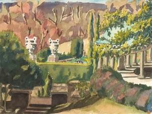 Watercolor Garden II Digital Print by Miller, Dianne,Impressionism
