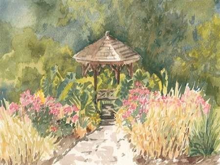 Watercolor Garden IV Digital Print by Miller, Dianne,Impressionism