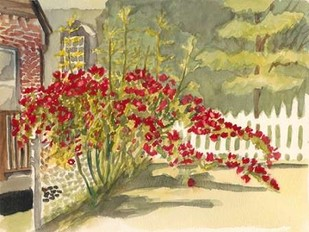 Watercolor Garden VI Digital Print by Miller, Dianne,Impressionism