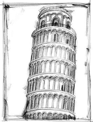 Graphic Architectural Study II Digital Print by Harper, Ethan,Illustration