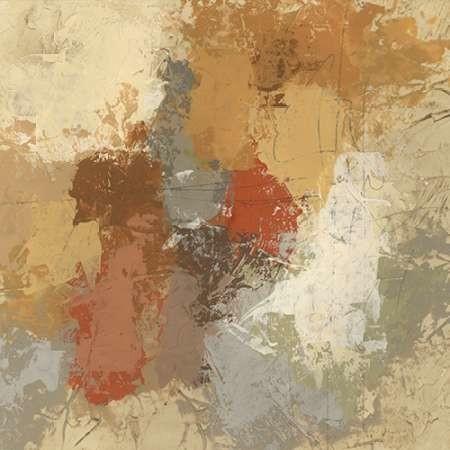 Saffron Fresco II Digital Print by Vess, June Erica,Abstract