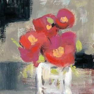Rose Bud Vase I Digital Print by Goldberger, Jennifer,Impressionism