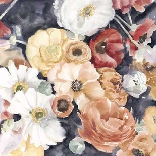 Floral Composition II Digital Print by Meagher, Megan,Impressionism