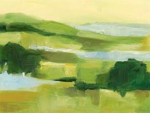 Emerald Wetlands II Digital Print by Harper, Ethan,Impressionism
