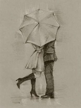 Rainy Day Rendezvous III Digital Print by Harper, Ethan,Decorative