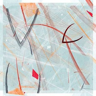 Vectora Panel III Digital Print by Burghardt, James,Abstract