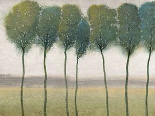 Row of Trees I Digital Print by O'Toole, Tim,Impressionism