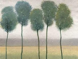 Row of Trees II Digital Print by O'Toole, Tim,Impressionism