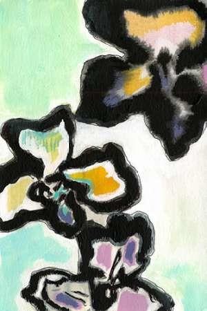 Orchid Pop II Digital Print by Fuchs, Jodi,Expressionism