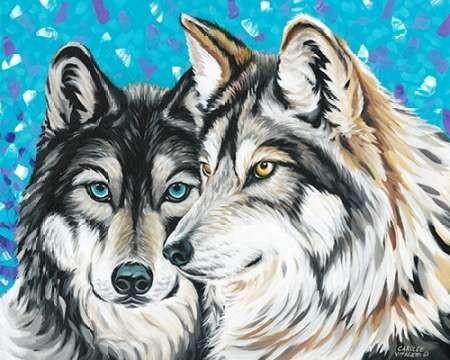 Grey Wolf I Digital Print by Vitaletti, Carolee,Decorative