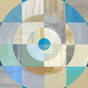Circle Center I Digital Print by Joy, Julie,Abstract