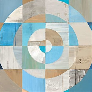 Circle Center II Digital Print by Joy, Julie,Abstract