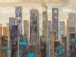 Urban Lights I Digital Print by Joy, Julie,Impressionism