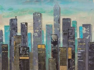 Urban Lights II Digital Print by Joy, Julie,Impressionism