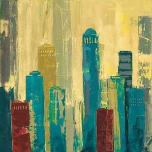 City Connection I Digital Print by Joy, Julie,Impressionism