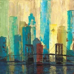 City Connection II Digital Print by Joy, Julie,Impressionism