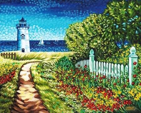 Lighthouse Retreat II Digital Print by Vitaletti, Carolee,Impressionism