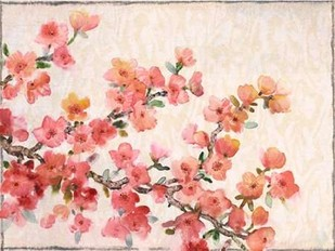 Cherry Blossom Composition II Digital Print by O'Toole, Tim,Impressionism