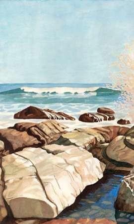 Sea Spray I Digital Print by Miller, Dianne,Impressionism