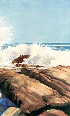 Sea Spray II Digital Print by Miller, Dianne,Impressionism