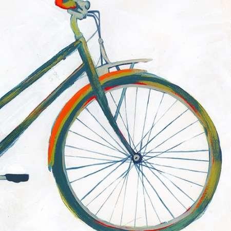 Bicycle Diptych II Digital Print by Popp, Grace,Pop Art