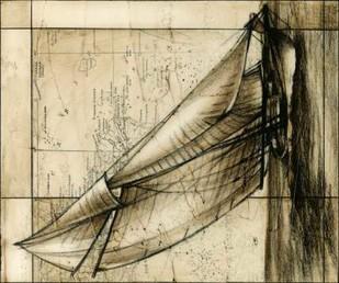 Tradewinds II Digital Print by Harper, Ethan,Illustration
