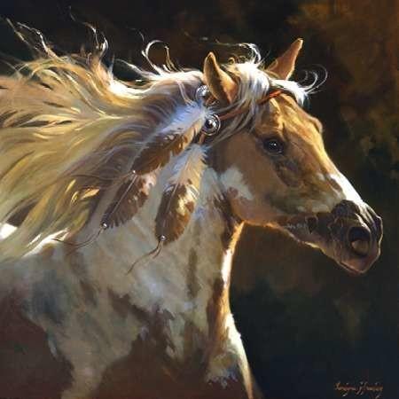 Spirit Horse Digital Print by Hawley, Carolyne,Realism