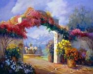 Garden Peace Digital Print by Hawley, Carolyne,Impressionism