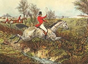 The English Hunt I Digital Print by Henry, Alken,Impressionism