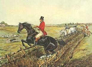 The English Hunt IV Digital Print by Henry, Alken,Impressionism