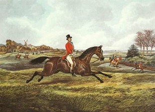 The English Hunt V Digital Print by Henry, Alken,Impressionism